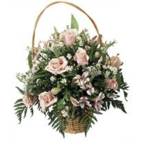 "Basket Arrangement ""Sweet Dreams"""